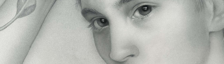 Faun - Kunst Grafik Bild Airbrush