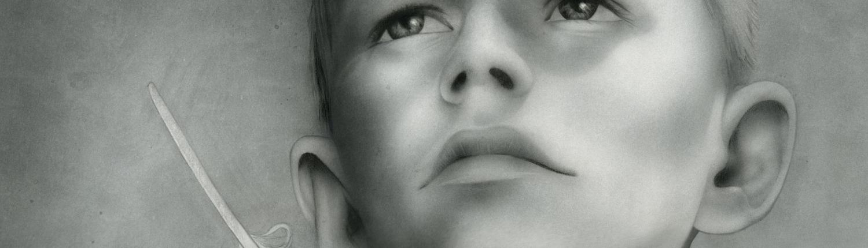 Ganymed - Kunst Grafik Airbrush Bild