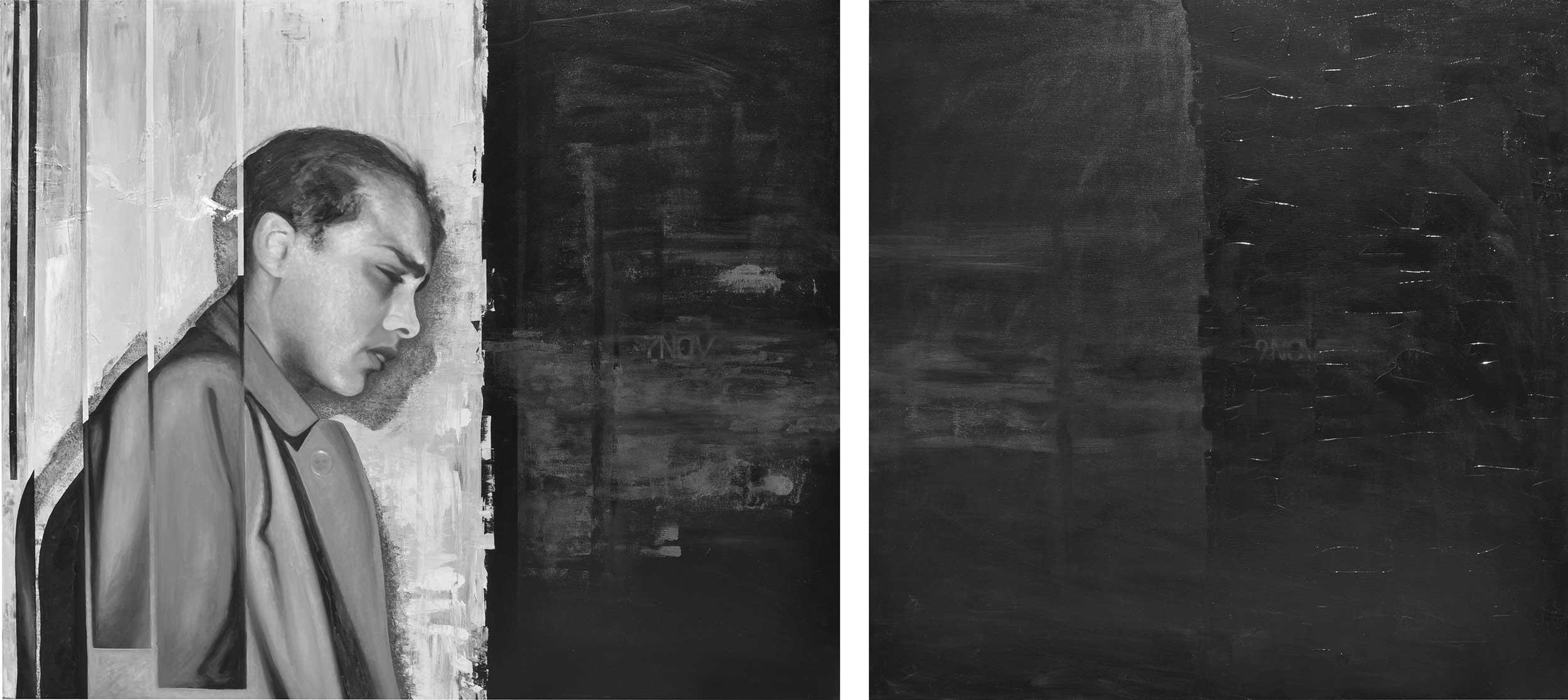 Novemberkind - Gemälde von Mario Wolf - Herschel Grynszpan