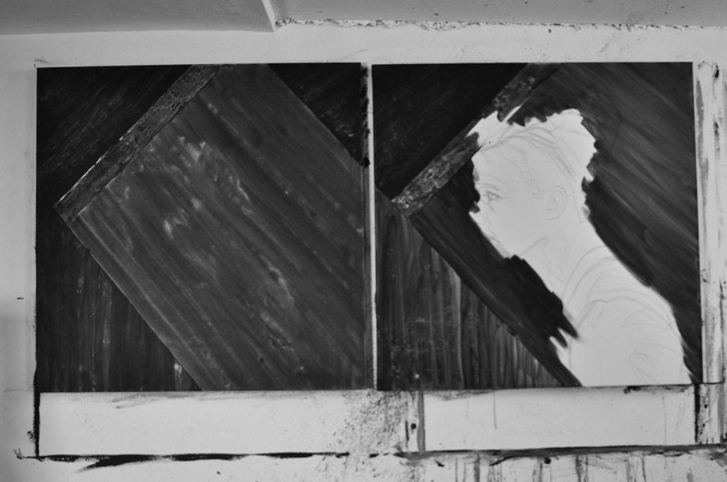 02 Entstehung Feindbild - Hintergrund malen