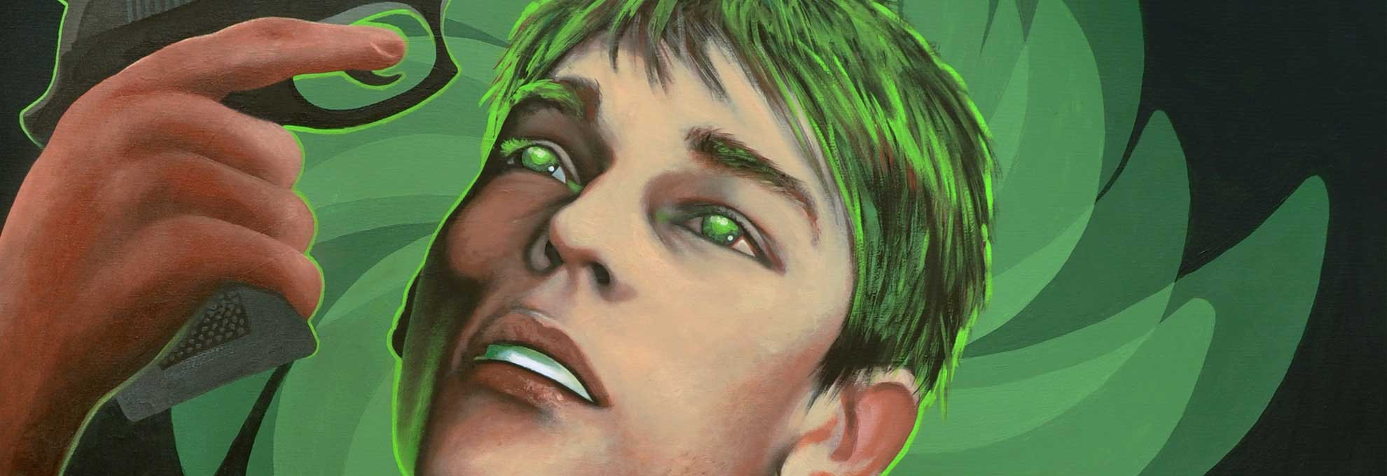 Kunst - Toxoplasma Gondii - Gemälde von Mario Wolf Künstler