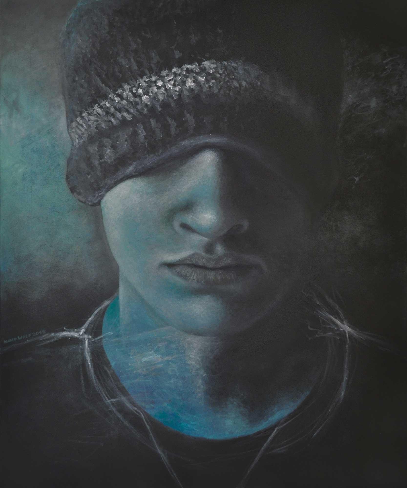 Intro - Gemälde Mario Wolf