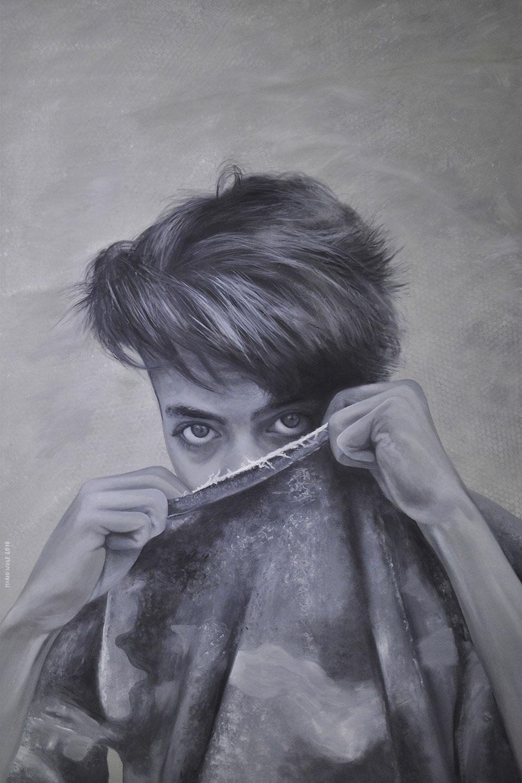 Erwachen - Gemälde von Mario Wolf