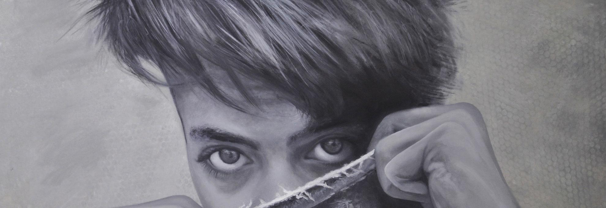 Erwachen - Gemälde vom Künstler Mario Wolf 2018