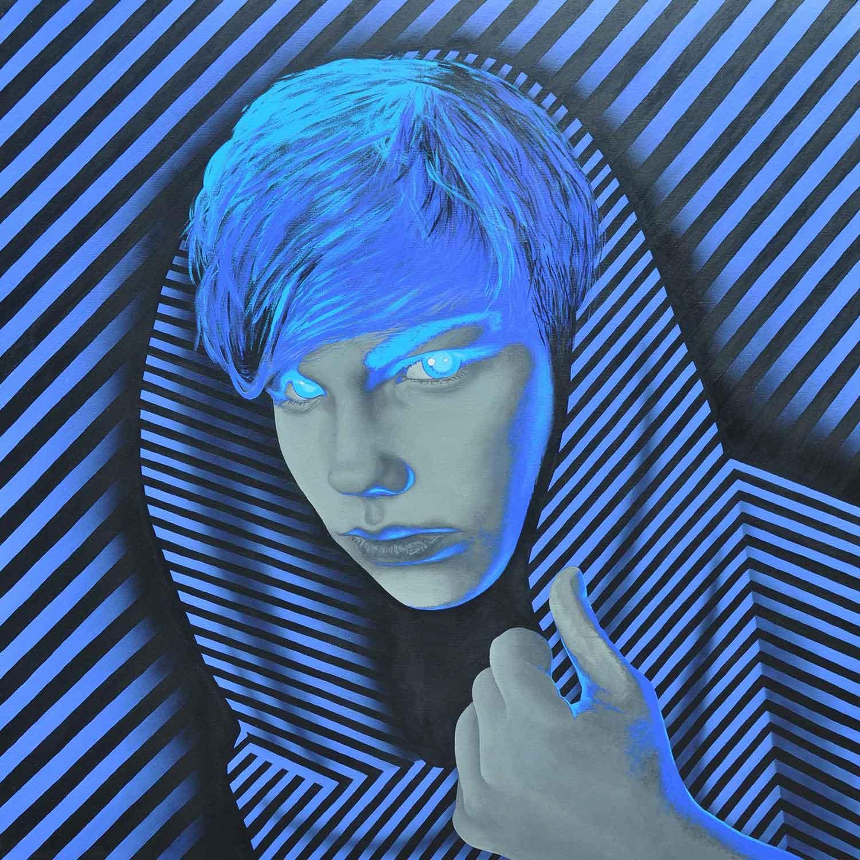Gedungen - Malerei, Acryl, Kunst - Mario Wolf Coburg