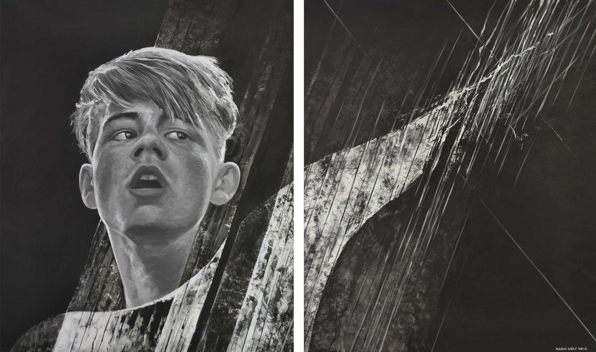 Irrlicht - Kunst, Gemälde vom Künstler Mario Wolf