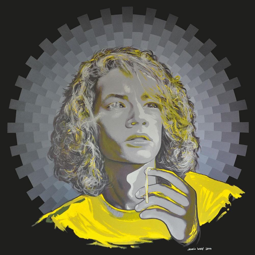 kleiner Tod 02 - Kunst, Malerei, Mario Wolf