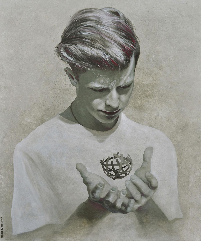 Konstrukt - Kunst, Gemälde von Mario Wolf Coburg