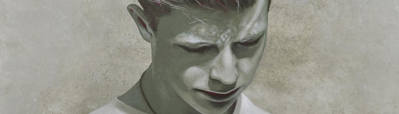 Kunst - Konstrukt - Ölgemälde, Malerei, Mario Wolf