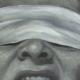 Kunst - Wut frisst Hirn - vom Künstler Mario Wolf