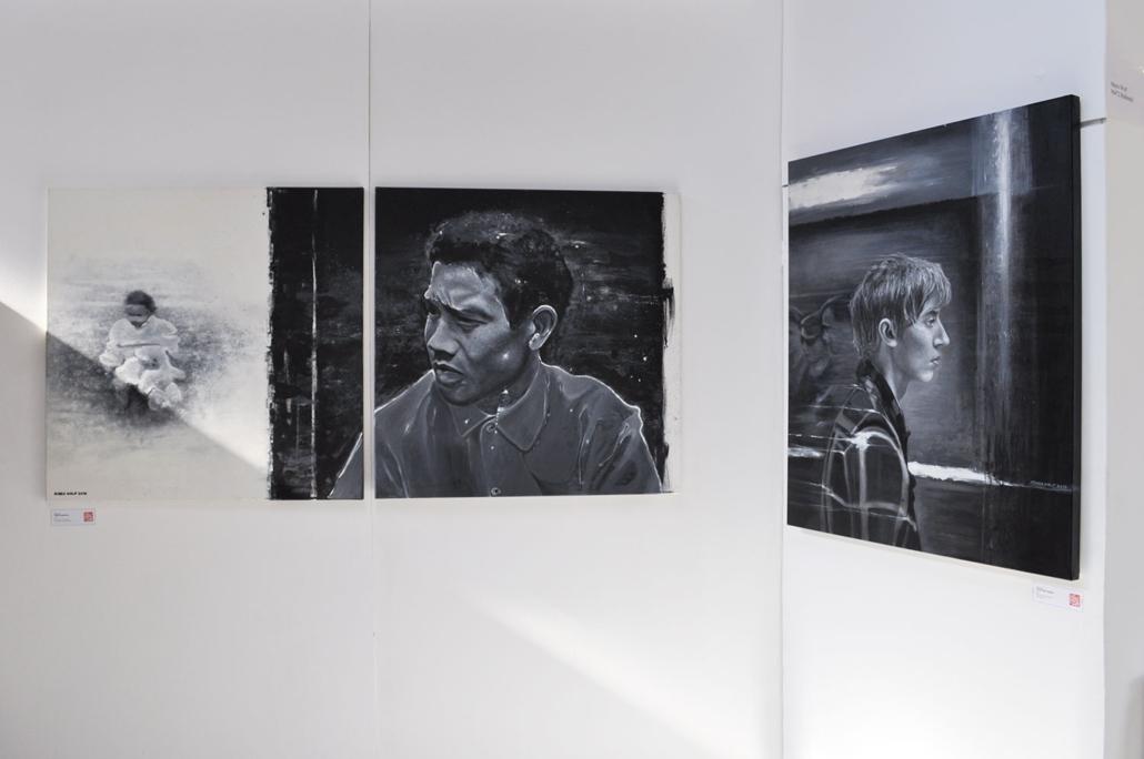 Ausstellung - Mario Wolf auf dem Umschlagplatz Coburg 2019