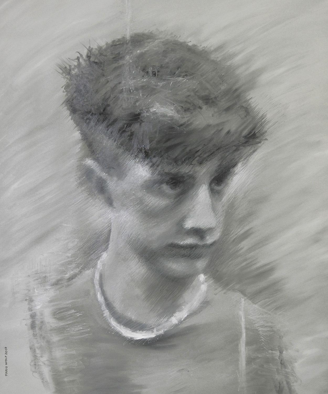 Redukt - Gemälde von Mario Wolf