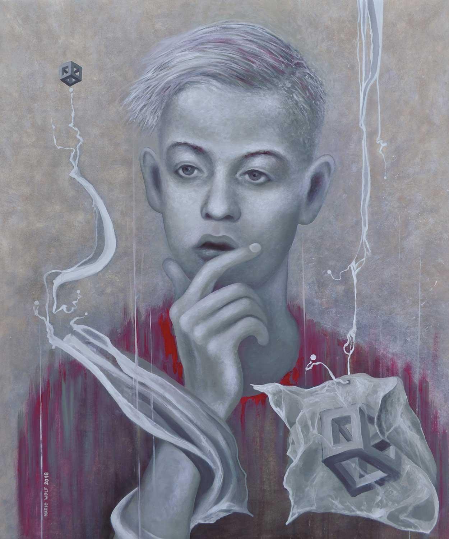 Schemata - Gemälde Mario Wolf 2018
