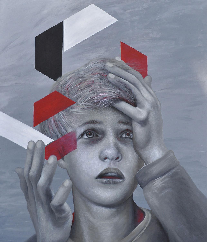 Summe der Teile - Kunst Malerei - Mario Wolf Künstler - 2018
