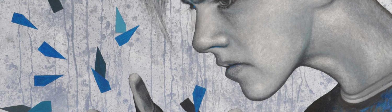Windhauch - Gemälde vom Künstler Mario Wolf - 2018