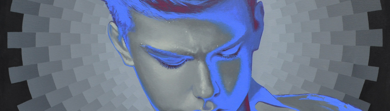 kleiner Tod 03 - Kunst, Malerei, Mario Wolf