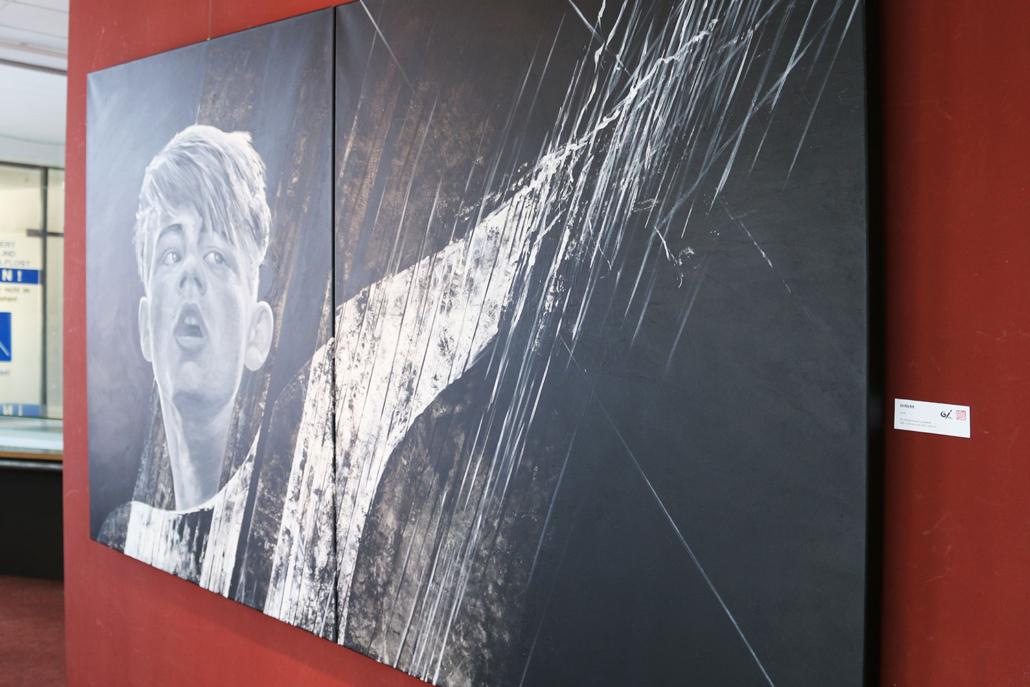 Ausstellung - Mario Wolf Blickwinkel in der Galerie des CCS Suhl