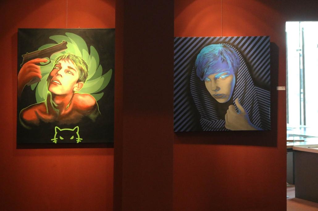 Ausstellung – Mario Wolf Blickwinkel in der Galerie des CCS Suhl